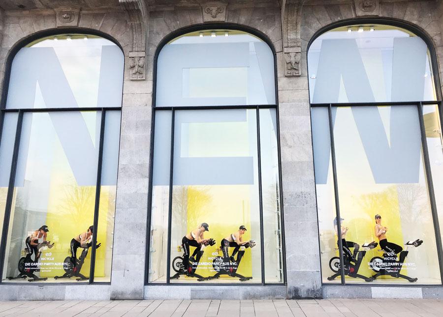 Living Decoration für Hicycle im Alsterhaus